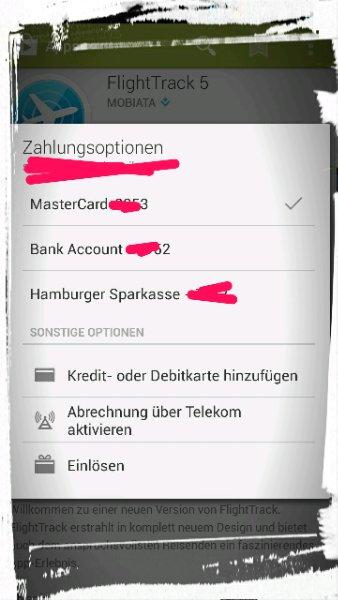 Zahlung Гјber Bankeinzug