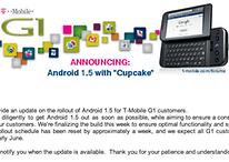 Launch von Android 1.5 wird in den USA nochmal verschoben