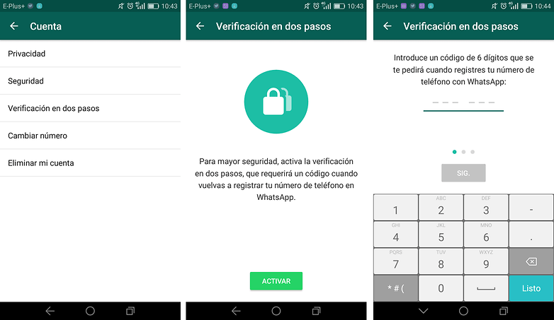 whatsapp verification androidpit