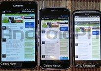 Hands-On del Samsung Galaxy Nexus con Android 4.0 Ice Cream Sandwich