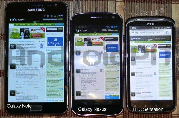 Hands-On Samsung Galaxy Nexus con Android 4.0