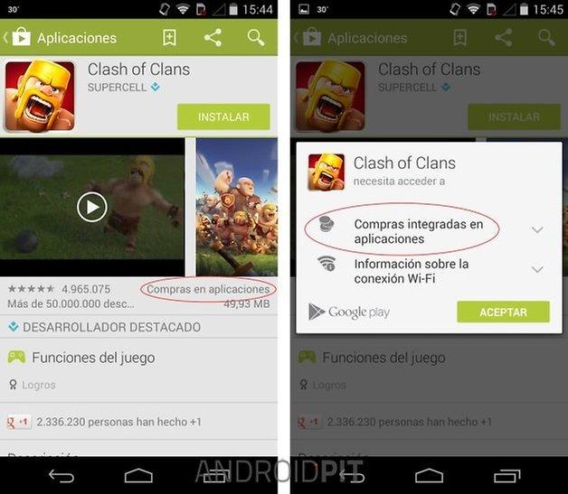 Google Play Compra Integrada