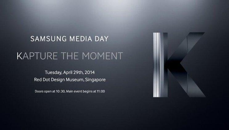 Samsung Galaxy K - ¿Presentación del Galaxy S5 Zoom el 29 de abril?