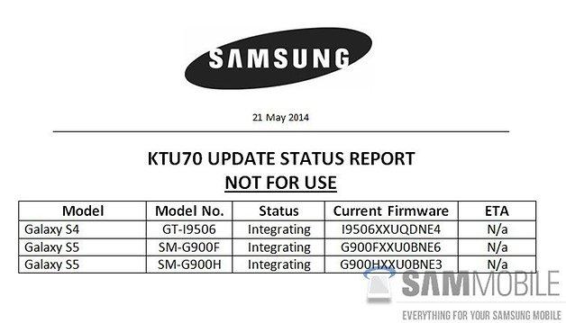 Samsung KTU70
