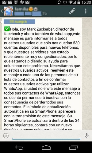estafa timo whatsapp