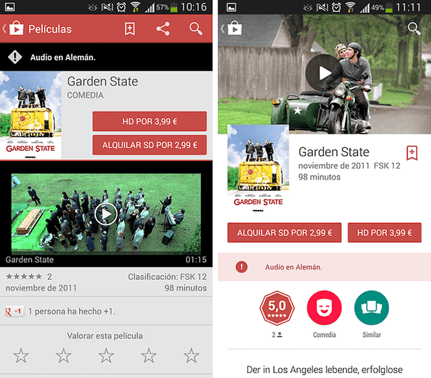 google play materia design 2