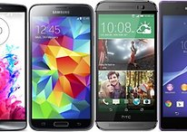 Comparatif : LG G3 vs Galaxy S5 vs HTC One M8 vs Xperia Z2
