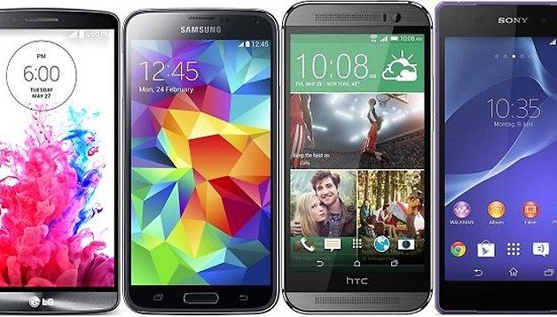 LG G3 Vs Galaxy S5, HTC One (M8), Xperia Z2