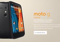 Moto G Forte - Smartphone más funda Grip Shell por 3369 pesos (México)