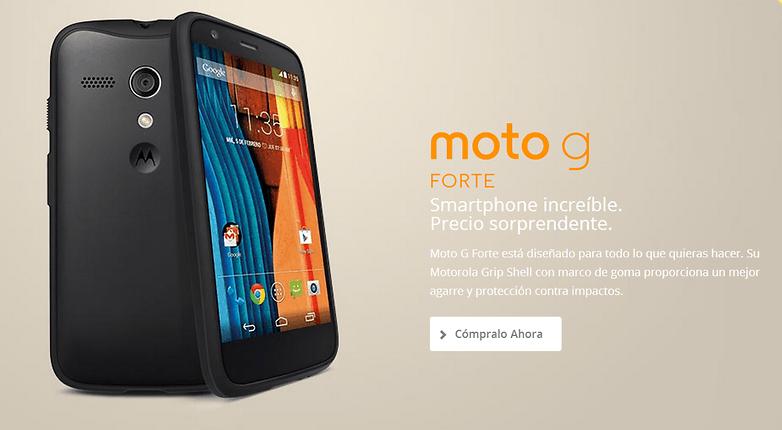 Todas Las Versiones Y Ediciones Del Moto G Actualizado