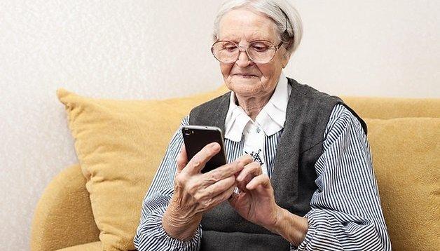 Los mejores smartphones para personas mayores