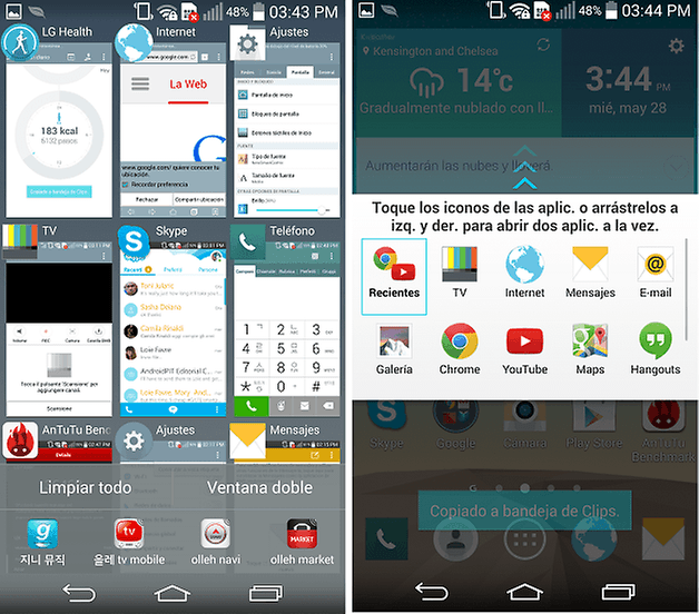 software lg g3 5