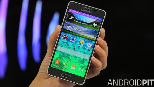 Samsung Galaxy Alpha - La actualización a Lollipop ha comenzado