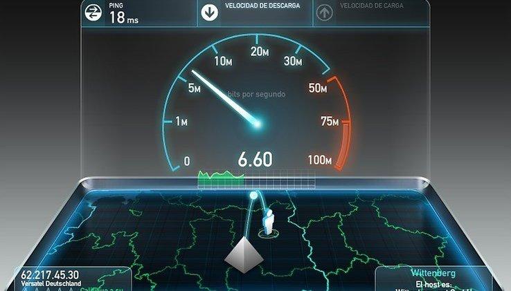 Comparación de velocidades de conexión a Internet - Ahora lo tendrás más claro