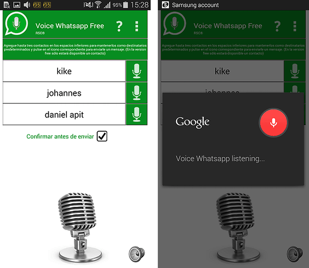 voice whatsapp free
