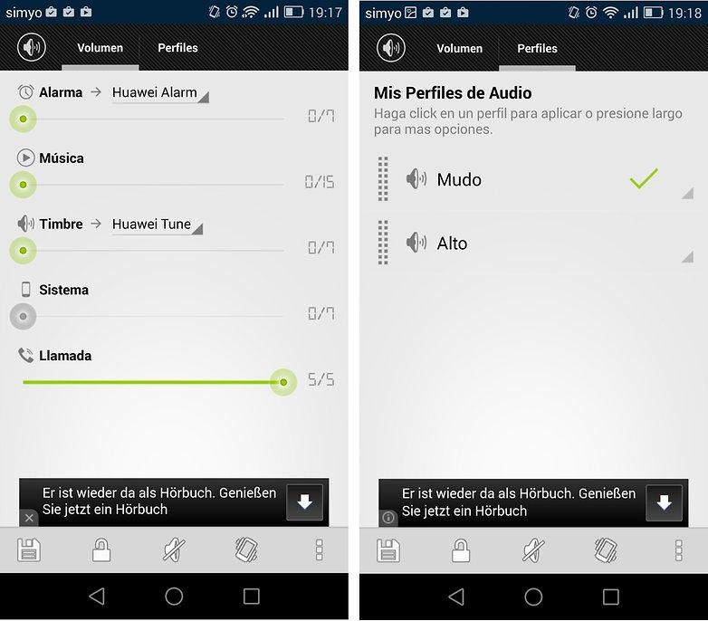 mejorar audio android