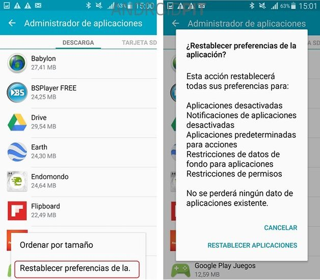 samsung galaxy s4 lollipop problema 2