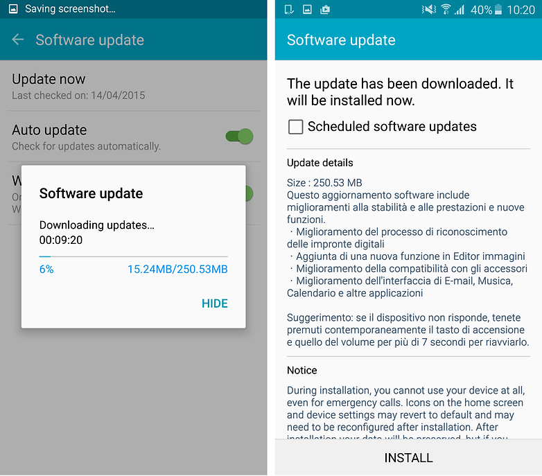 samsung galaxy s6 edge lollipop androidpit