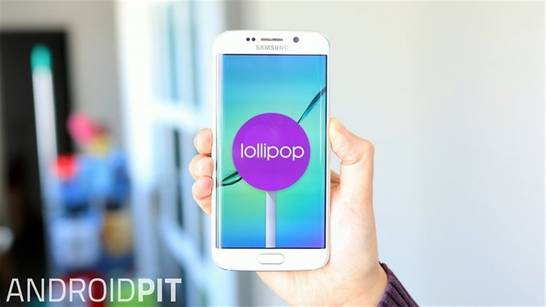 samsung galaxy s6 edge lollipop