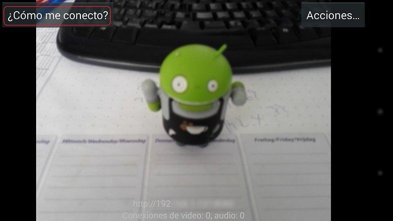 utilizar androidpit smartphone webcam 4