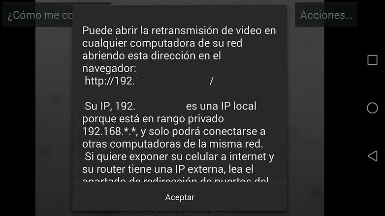 utilizar smartphone webcam androidpit 3
