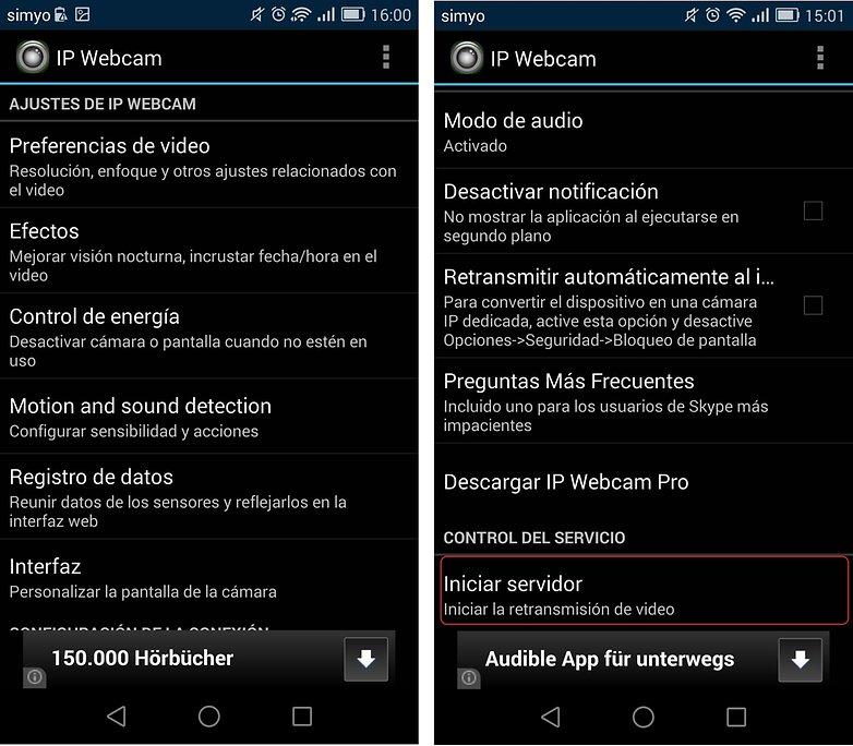 utilizar smartphone webcam androidpit 6