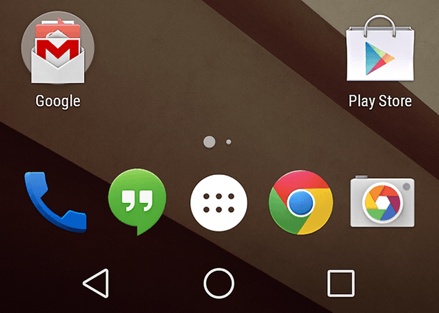 botones android L