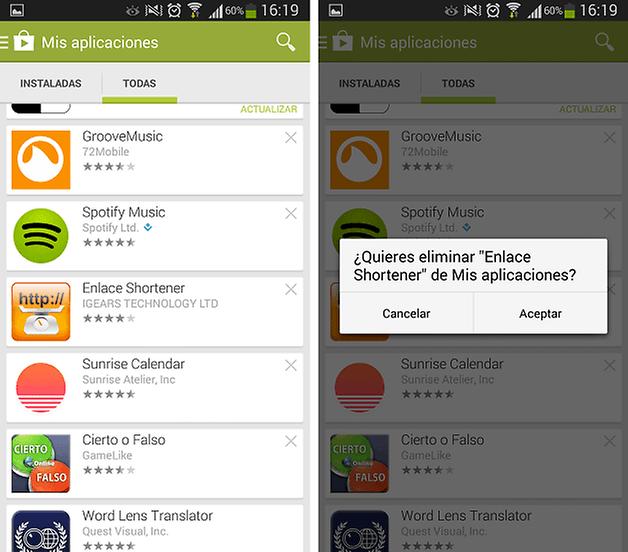 desinstalar aplicaciones google play 3