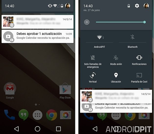 notificaciones android l androidpit