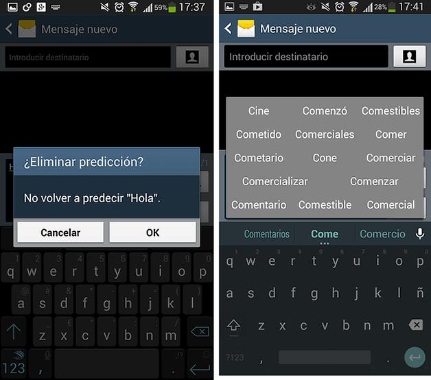 swiftkey vs android l teclado 4