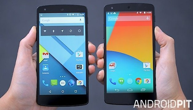 10 diferencias entre Android 4.4 KitKat y Android 5.0 Lollipop