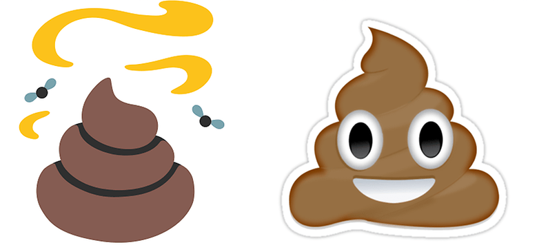 emoticon shit hangouts whatsapp