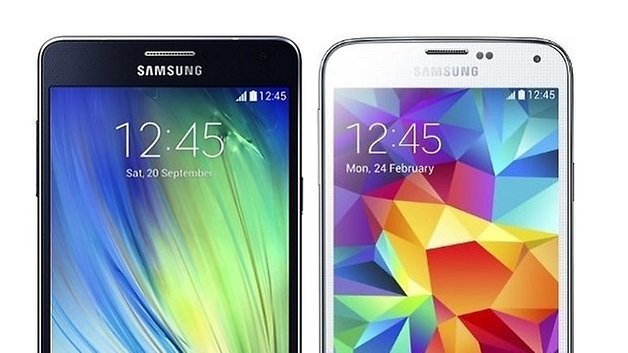 galaxy a7 samsung galaxy s5