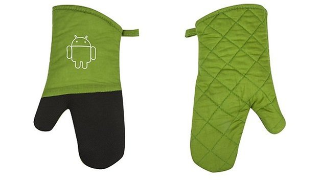 guantes horno android