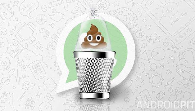 El icono de la caca con ojos de WhatsApp está en peligro de extinción