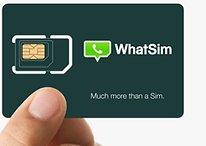 WhatSIM - La tarjeta SIM que nos permite utilizar WhatsApp sin internet