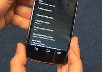 Android 4.2.2 Jelly Bean aparece de nuevo en un Nexus 4... ¡en vídeo!