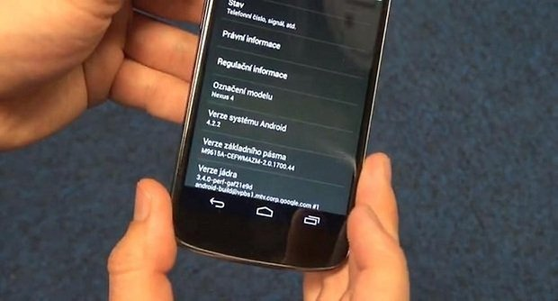 android 4.2.2 nexus 4 video
