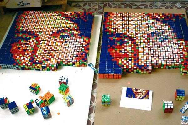 invader mosaico