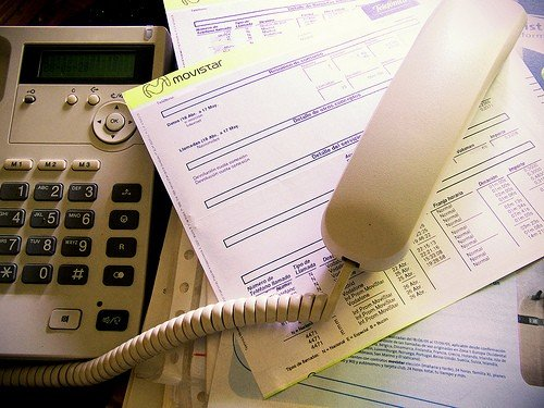 factura telefonica