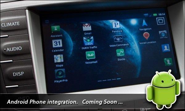 Toyota Lexus Android