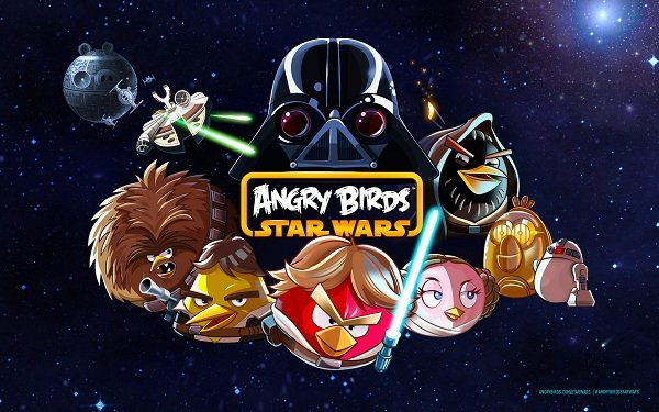angry birds star wars video