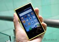 Baidu Cloud - Un smartphone Android con 300 GB de memoria