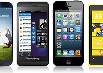 Samsung Galaxy S4 vs Blackberry Z10 vs iPhone 5 vs Lumia 920