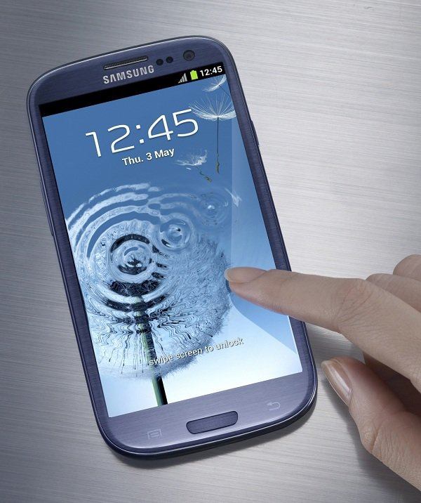 hands-on samsung galaxy s3