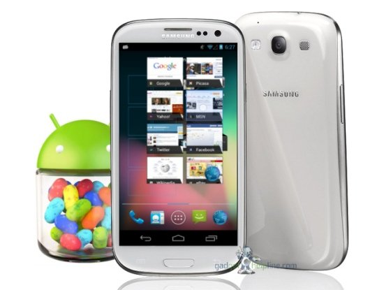 Galaxy S3 Jelly Bean video
