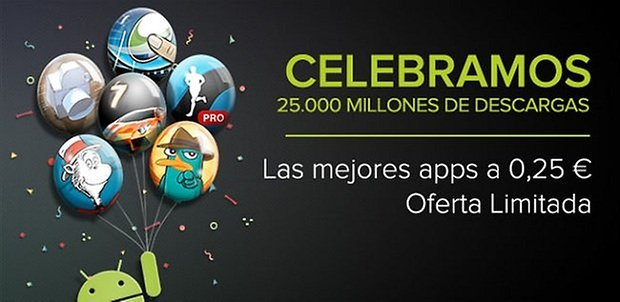 oferta google play 25 centimos