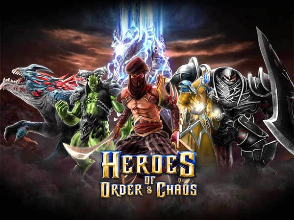 heroes of order and chaos gameloft