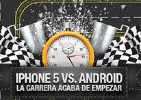 iPhone 5 vs. Android: La carrera acaba de empezar (Infografía)