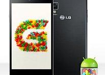 LG actualiza a Jelly Bean a algunos privilegiados